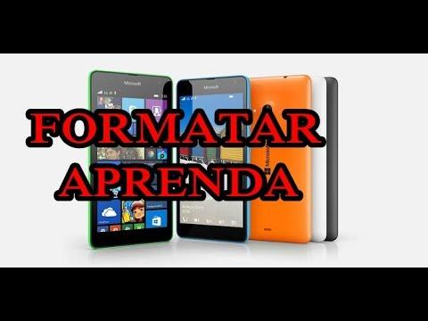 Como formatar qualquer celular da Nokia/microsoft. Fácil , Fácil !