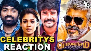Vijay Sethupathi, Sivakarthikeyan And More Celebrities About VISWASAM First Look | Thala Ajith