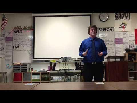 Speech Trek 2015 Eion Harrow Mission Oak High School