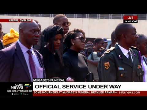 Mugabe's funeral   World bids former President Robert Mugabe farewell