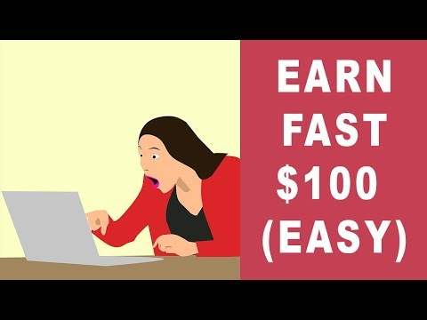 How To Make Easy $100 In One Day Online in 2019 (1 Hour Of Work)