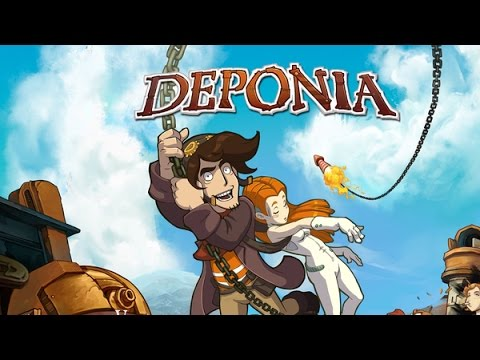 Deponia Full Game Playthrough | Movie