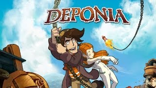 Deponia – Game Movie (All Cutscenes / Story Walkthrough) 1080p HD