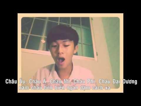 Rap Hướng về biển Đông của học sinh