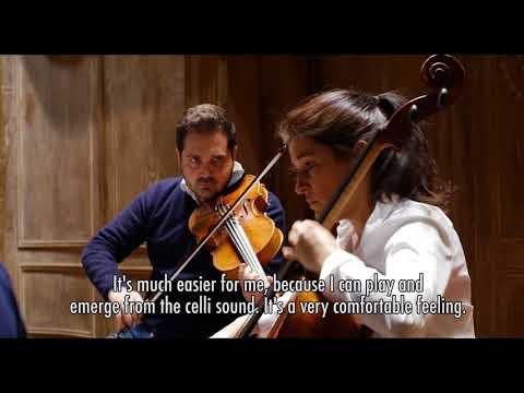 Cuarteto Quiroga & Valentin Erben play Schubert Quintet D.956 / Sociedad Filarmónica de Bilbao