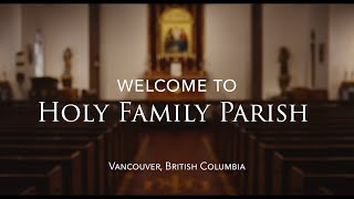 Welcome to Holy Family Parish (2020)