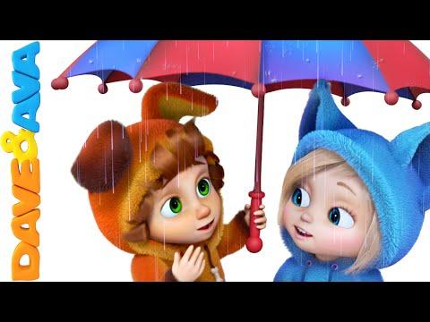 Rain Rain Go Away | Nursery Rhymes and Baby Songs from Dave and Ava