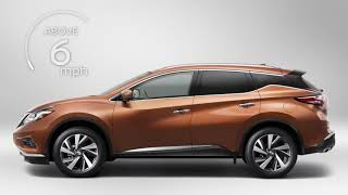 2018 Nissan Murano - Intelligent Around View Monitor (I-AVM) (if so equipped)