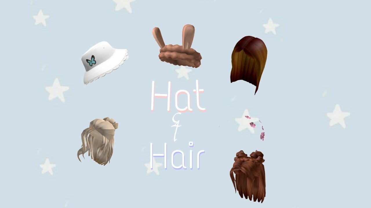 Roblox Hair Asset Id Aesthetic Hat And Hair Codes Roblox Read Description Pls Youtube