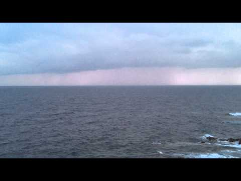 Orages, eclairs, pluie. . . . .  Toulon, météo