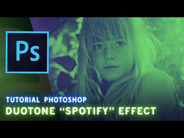 Tutorial Photoshop: Effetto Duotone ( Spotify )