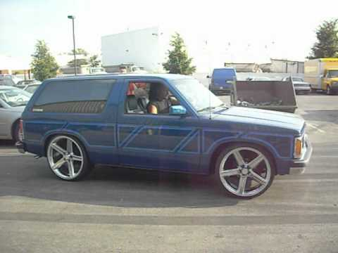 Bet It Up Kustoms S10 Blazer On 2 S Amp 4 S Iroc S Burnout