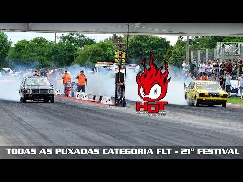 Todas as puxadas categoria FLT - 21º Festival