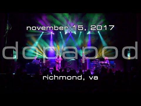 Dopapod: 2017-11-15 - The National; Richmond, VA [4K]