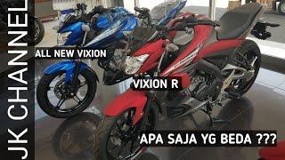 BEDA 3 JUTA !! PERBANDINGAN YAMAHA ALL NEW VIXION DAN VIXION R WARNA BARU.