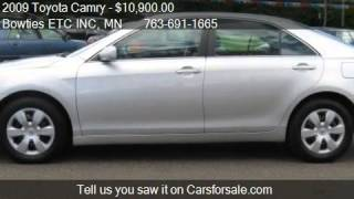 2009 Toyota Camry LE 4dr Sedan  for sale in Cambridge, MN 55