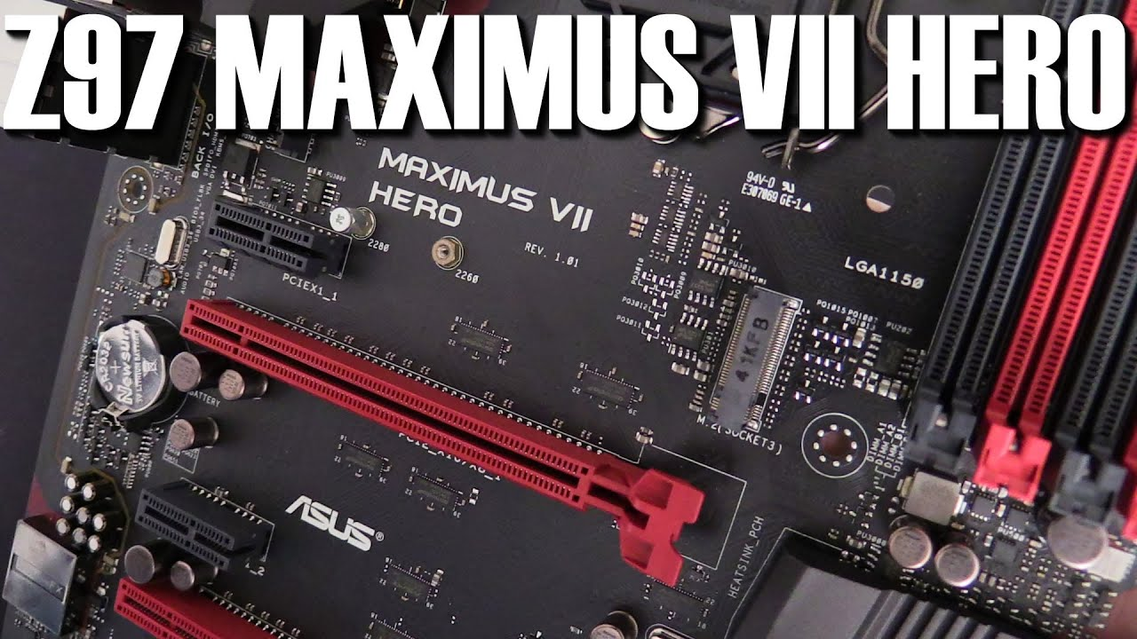 ASUS Maximus VII Hero Review | Introduction and Technical