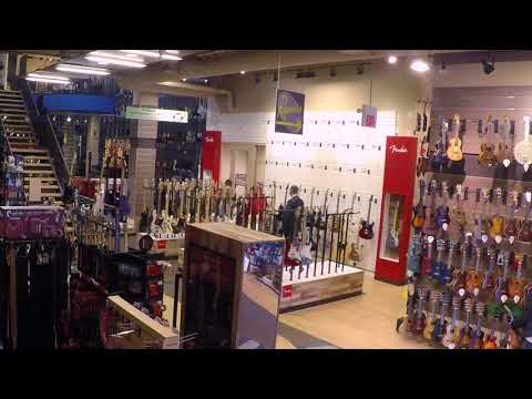 The New Fender Store Experience at Cosmo Music Timelapse