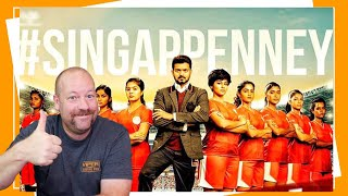 Bigil | Singappenney Song | Thalapathy Vijay | Nayanthara | A R Rahman | Reaction