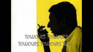 LES AMOURS PERDUES - SERGE GAINSBOURG (1961)