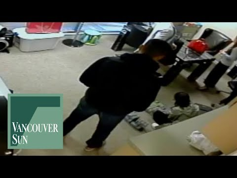 Surveillance camera footage from inside Silver International | Vancouver Sun