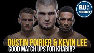 BJJ Scout: Khabib v Kevin Lee/Dusin Poirier Future Match Up Thoughts