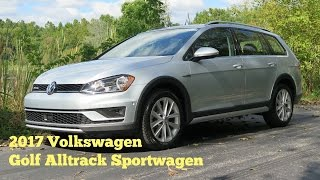 2017 Volkswagen Golf Alltrack 4MOTION **SOLD** - Video Test Drive with Chris Moran