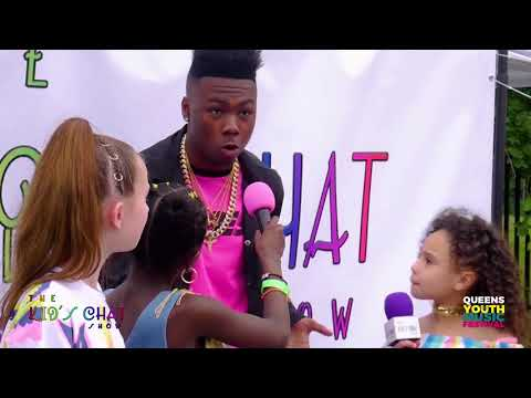 The Kid's Chat Show at Queens Youth Music Festival 2018