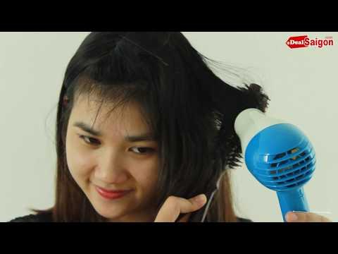 Uốn tóc bằng máy sấy