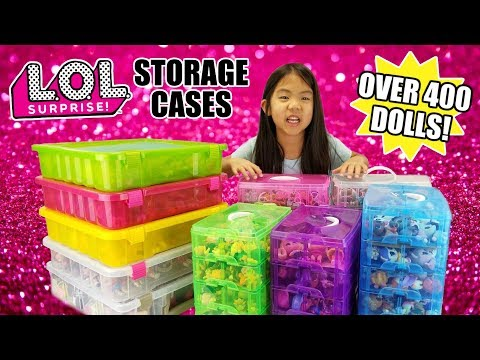 LOL Surprise Collection Storage Cases | How to Store + Organize L.O.L. Dolls | Best Cases Ever!
