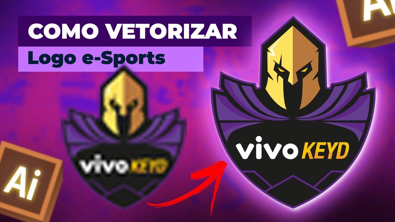 VIVO KEYD Free Fire | Como fazer logotipo de e Sport