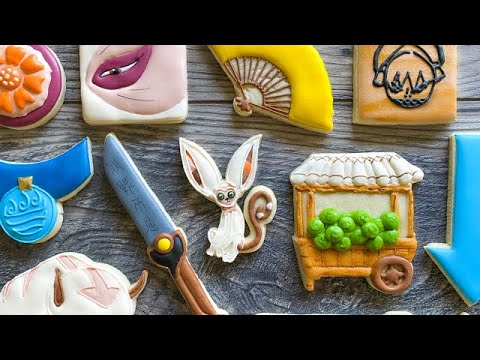 Avatar: The Last Airbender Inspired Cookies • Tasty