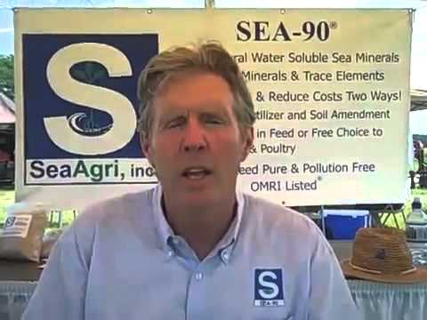 Robert Cain talks about SEA 90   Natural Sea Mineral Solids