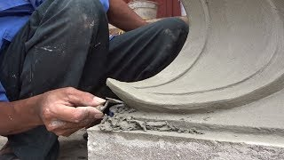Amazing Creative Construction Worker Cement You MUST See - How to Build Sand And Cement Easy