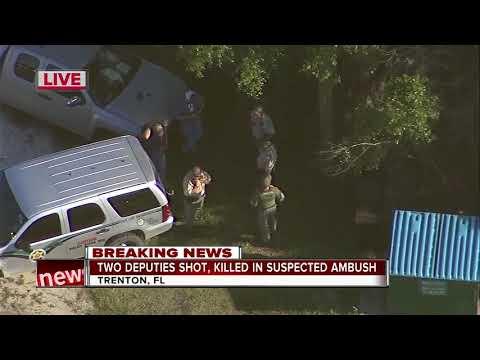 2 deputies shot, killed in suspected ambush in Florida