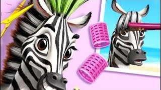 Fun Animals Care - Animal Makeover Jungle Animal Hair Salon 2 - Dress Up Games for Kids