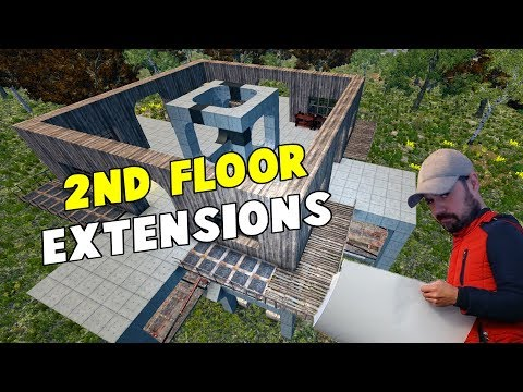 Extending The Second Floor | WotW S01 | 7 Days To Die Alpha 16 Let's Play Gameplay PC | E33