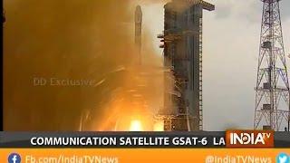 ISRO Successfully Places Communications Satellite GSAT-6 in Orbit - India TV