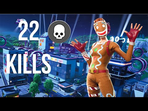 22 Kills Fortnite Battle Royale (Xbox One X)
