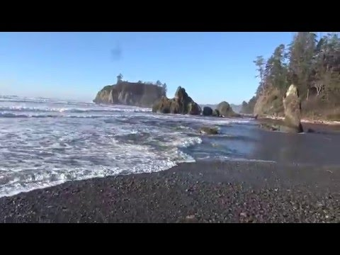Ruby Beach, WA in 4k
