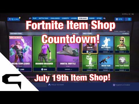 Gifting Skins!! FORTNITE ITEM SHOP COUNTDOWN July 19th item shop Fortnite battle royale