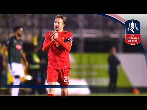 Гол Лейвы принёс «Ливерпулю» победу в 1/32 финала Кубка Англии