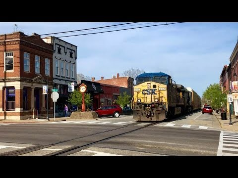 Goodbye Street Running Trains!  Reroutes Have Started