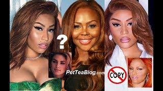 Lil Kim Stylist Accuses Nicki Minaj of Stealing her Look, Team & Face MOLE ✂️