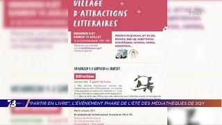 Yvelines   «Partir en livre», l'événement phare de l'été des médiathèques de SQY