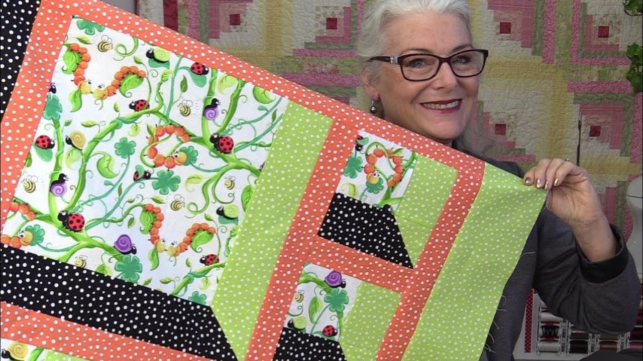 6 Ways To Make An Attic Window Quilt Block Youtube