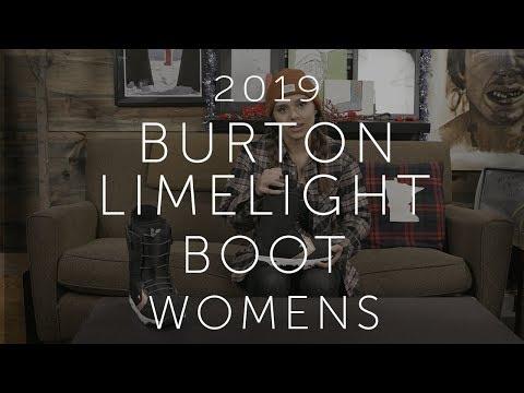 Burton Limelight Boa Snowboard Boot 2018 Womens Black 5