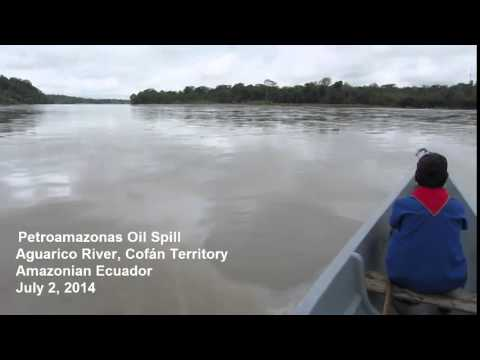 Oil Spill in Cofán Territory