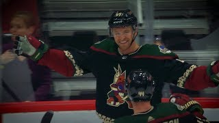 Michael Grabner collects two shorties for Coyotes
