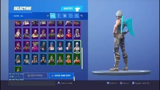 FROZEN LOVE WINGS SUR TOUS LES SKINS EN FORTNITE BATTLE ROYALE!!
